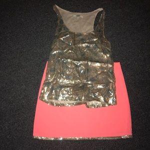 BOTH BB Dakota sequin skirt + matching top